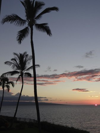 Sheraton Maui Resort & Spa: Sunset from the room