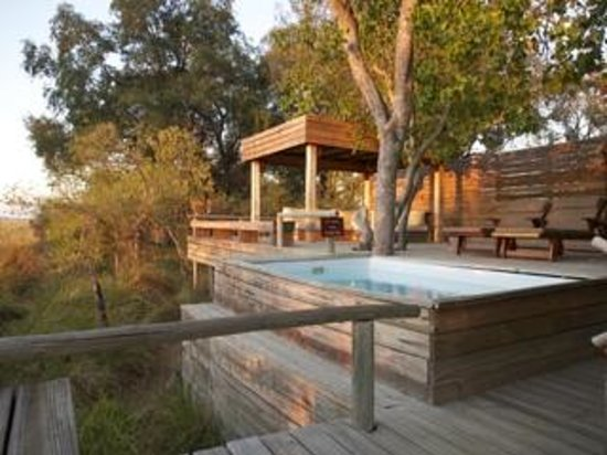 Wilderness Safaris Vumbura Plains Camp: Private pool