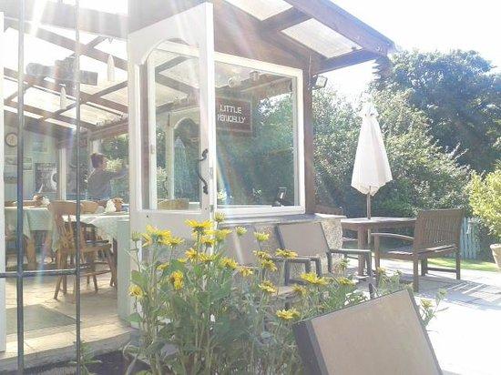 Little Pengelly Farm B&B: Little Pengelly tea room