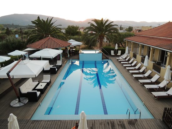 Agrilia Hotel : view from our room last year - sept 2012