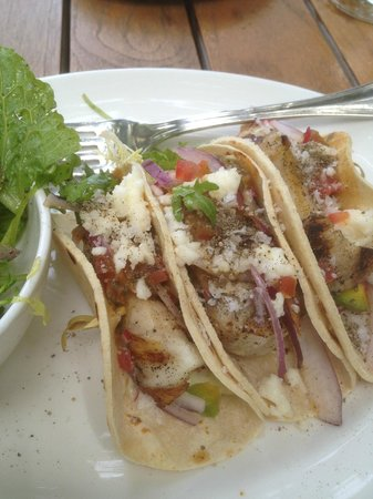 The Restaurant at The Raleigh: Fish Tacos