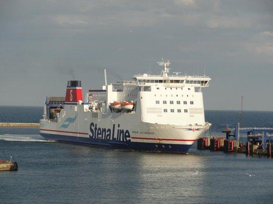 Hotel Jutlandia: A view of the harbour