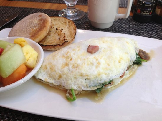 Bite: Egg white omelette