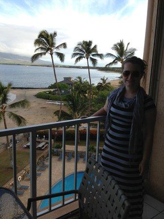 Menehune Shores: View from balcony