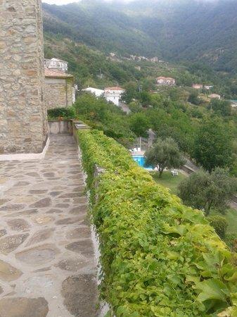 B&B Palazzo Vassallo: Dal terrazzo della nostra camera
