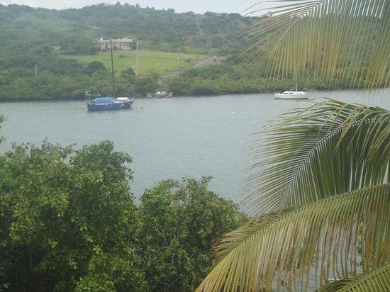 Villa Pelicano: Patio View