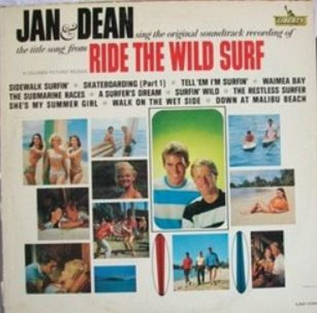 Bruce Snake Gabrielson's Surf Art Gallery and Museum: Jan and Dean's classic record is a new edition