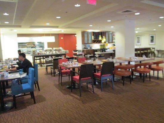 Hilton Garden Inn Boston/Waltham: Dining Area