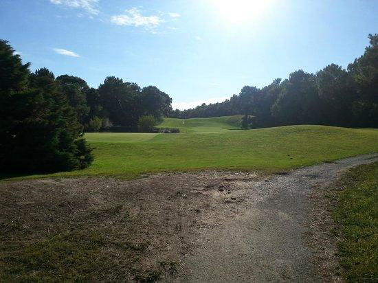 Pierre & Vacances Resort Moliets: vue sur le golf