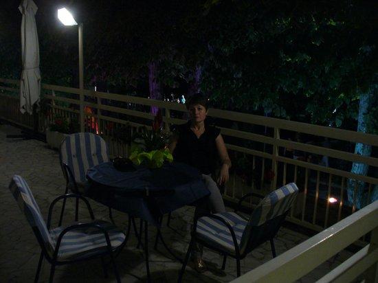 Hotel Gloria: Ospiti in terrazza