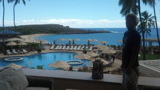 Sail Maui : hotel lanai