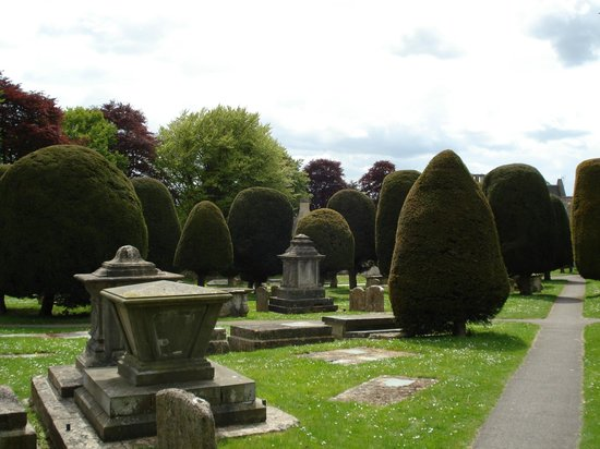St Marys Painswick: cimitero