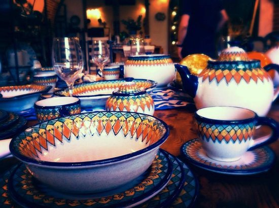 Foto de cer mica uriarte puebla vajilla tripadvisor for Vajilla ceramica