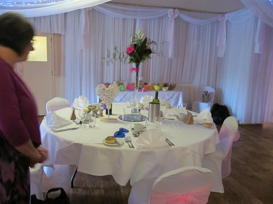 Leeford Place Hotel: Wedding Breakfast