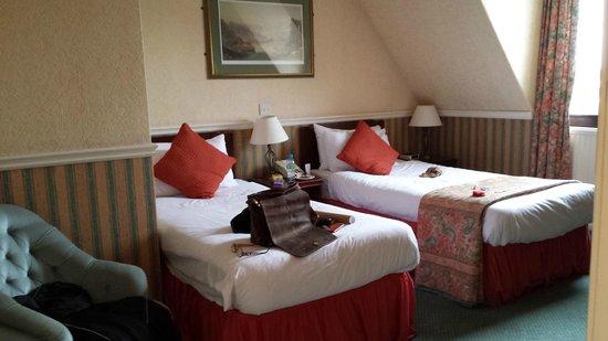 Best Western Edinburgh South Braid Hills Hotel : Zimmer mit 2 Einzelbetten