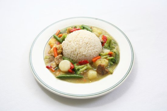 Finger Licking Restaurant: Curry Rice