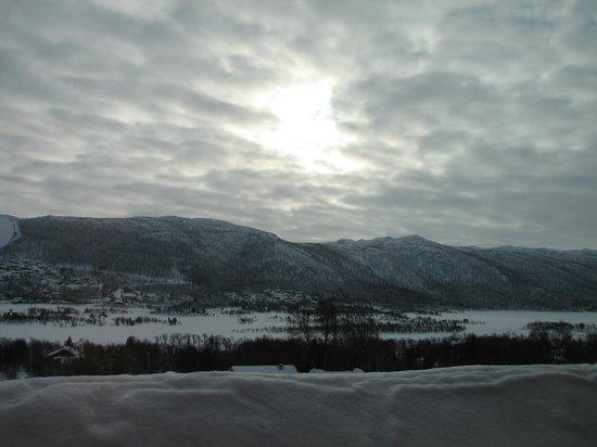 Ustedalen Hotel: Вид из окна