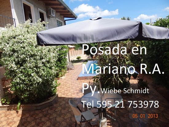 Pension Paraguay Wiebe & Schmidt : Posada en Mariano Roque Alonso