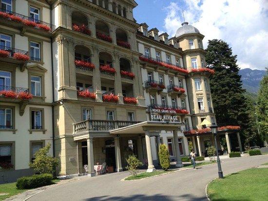 Lindner Grand Hotel Beau Rivage: Fachada