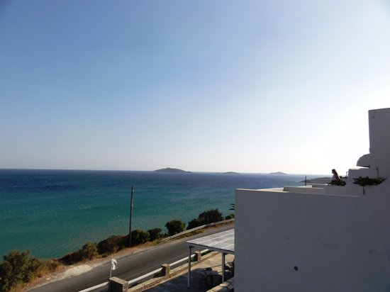 Hotel Perrakis : Sea view from the room