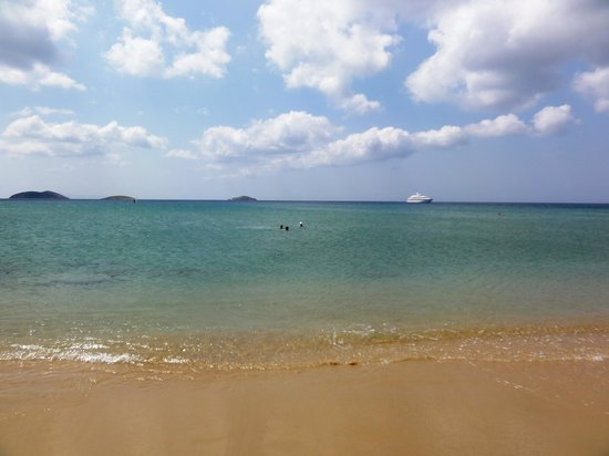 Hotel Perrakis: Agios Petros beach