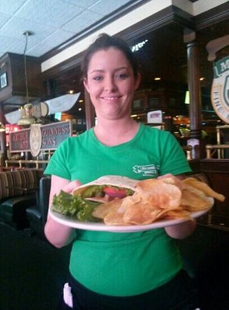 Branigan's Irish Grill & Pub: my server ciara