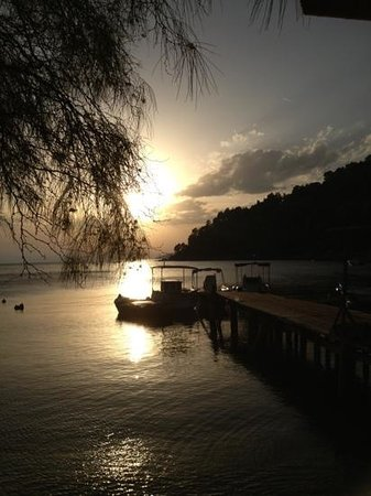 Pavlos : sunset view