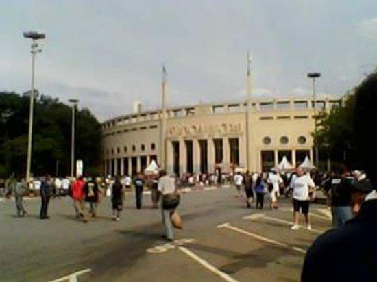 Pacaembu Stadium: Entrada do Pacaembu