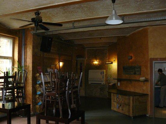 Globetrotter Hostel Odyssee: Salle à manger