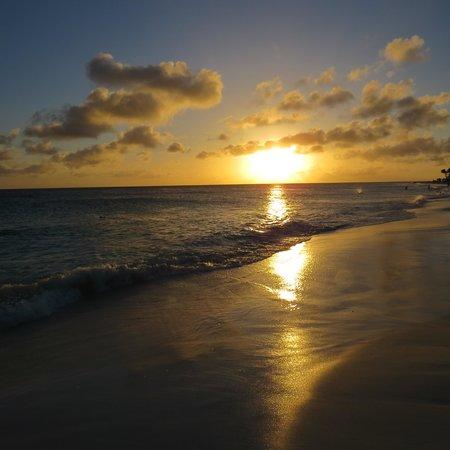 Druif Beach: sunset