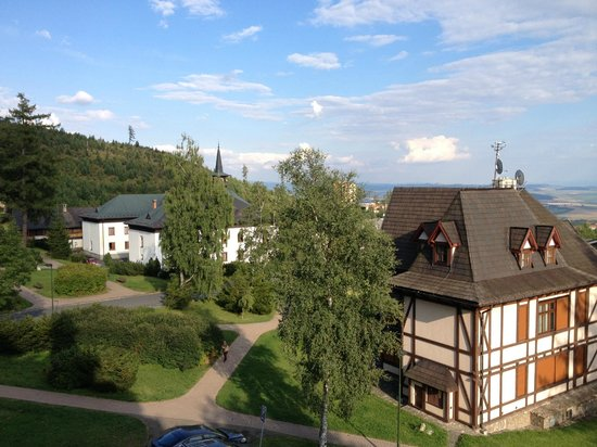 Grandhotel Stary Smokovec: View from room