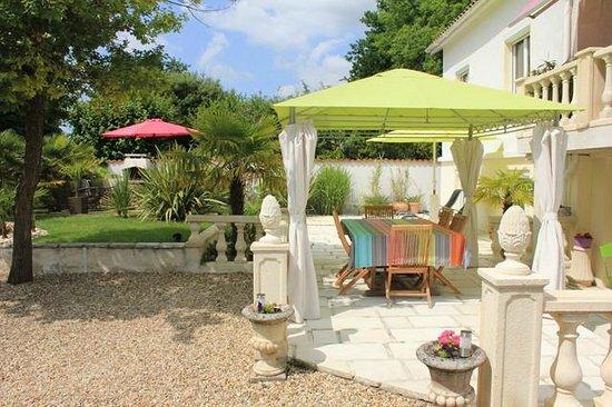 Villa Caprice : espace dejeuner