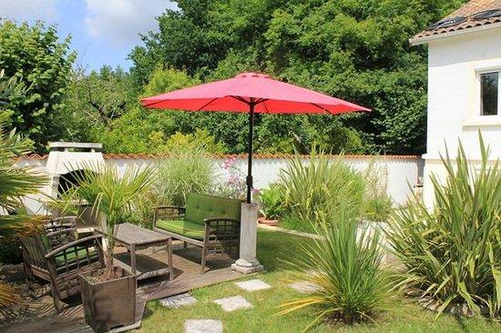 Villa Caprice : espace barbecue