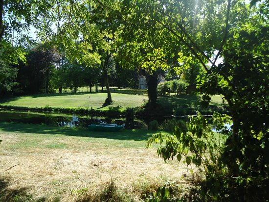 Meon Springs Glamping: your view