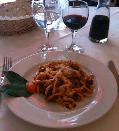Ai Quattro Venti: pici à Montepulciano Rist ai 4 Venti