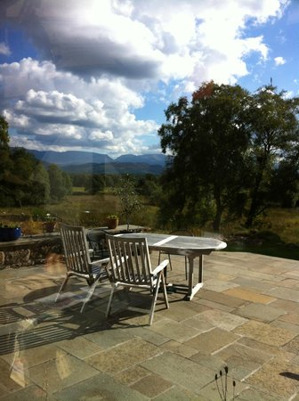 Docharn Lodge Guest House: Stunning views from the terrace