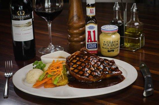 PEPE´S: Sweeat and Sour Pork Chop // Chuleton de cerdo en salsa agridulce