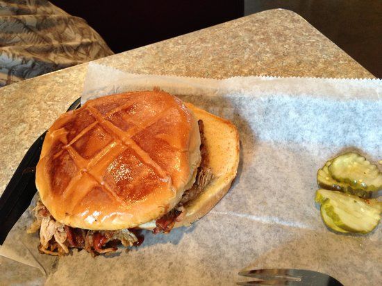 Oklahoma Joe's BBQ: Pulled pork