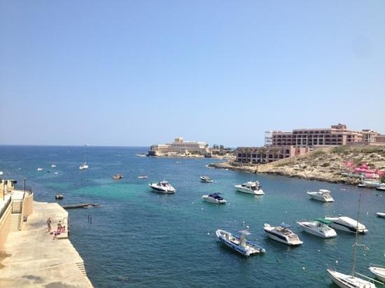 Marina Hotel Corinthia Beach Resort: View from room
