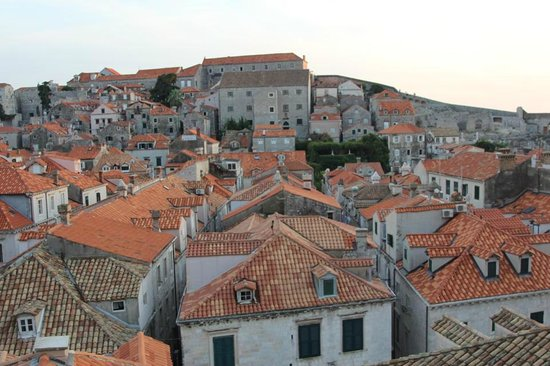 Hotel Stari Grad : Another view from the Stari Grad roof