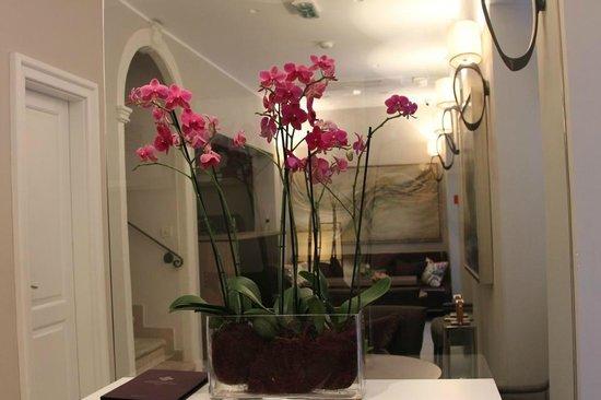 Hotel Stari Grad: Orchids in the lobby