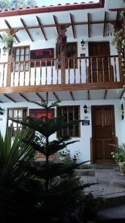 Hotel Rumi Punku: Vista do apartamento