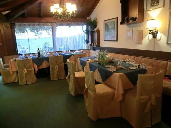 Hotel Micamada: Der Speisesaal