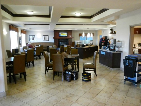 Canalta Hotel Humboldt : Breakfast area, Canalta Hotel, Humboldt, SK.