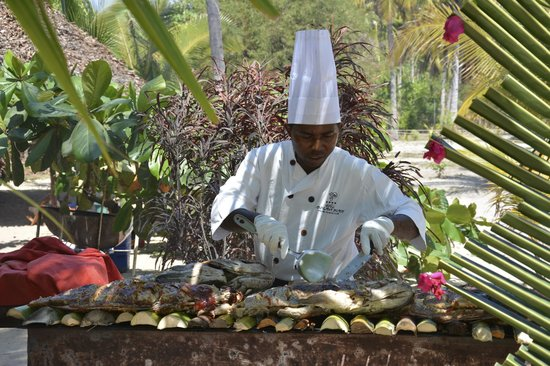 Andilana Beach Resort : chef