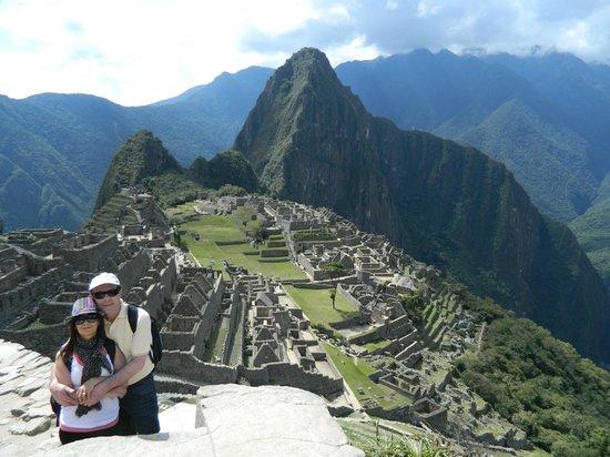 Inkaterra Machu Picchu Pueblo Hotel: La ciudadela: emocion pura! no existen palabras para describir lo que se siente al llegar