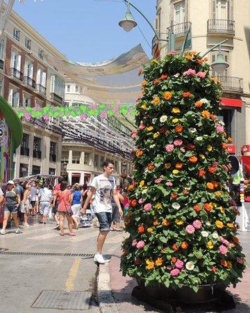 Malaga feria : si entra nella festa