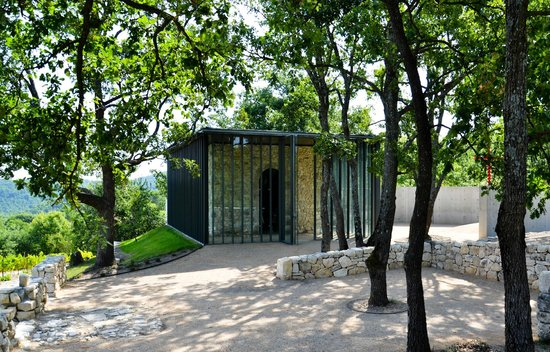Le Puy-Sainte-Reparade, France: Tadao Ando, Chapel