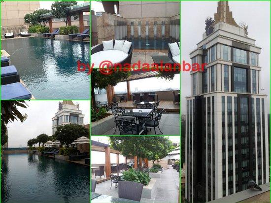 Oakwood Premier Prestige Bangalore : pool on the 12 flr