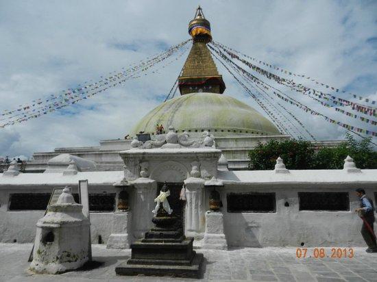 สถูปโพธานาฑ: Lo stupa di Bodnah nel suo splendore